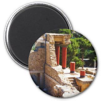 El palacio de Minoan de la imagen de Knossos Imanes