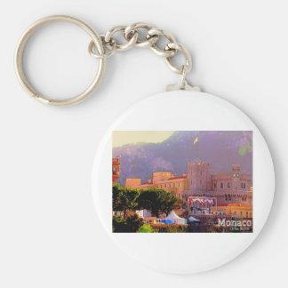 El palacio de Mónaco Llaveros Personalizados