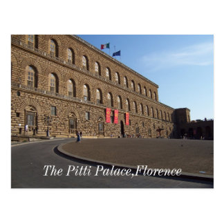 El palacio de Pitti, Florencia Tarjetas Postales