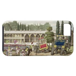 El palacio de Tippoo Sahib (1749-99) grabado por T Funda Para iPhone 5 Tough