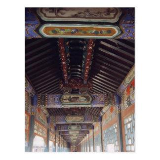 El palacio de verano en Pekín Postal