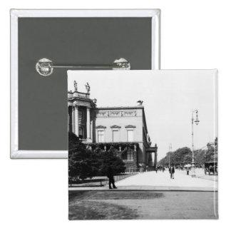El palacio de Wilhelm I Pin Cuadrada 5 Cm