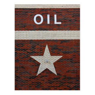 El palacio del aceite en Tejas Tarjetas Postales
