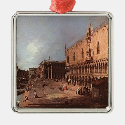 El palacio del dux de Canaletto- Adorno De Navidad