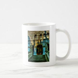 El palacio del dux - Venecia Taza Básica Blanca