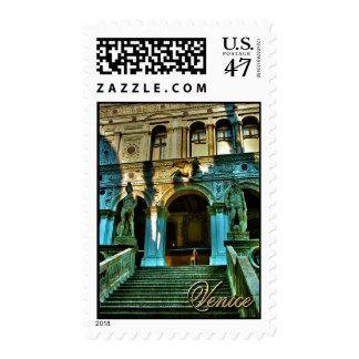 El palacio del dux - Venecia Timbre Postal