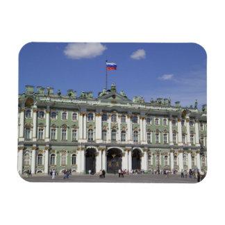 El palacio del invierno, St Petersburg, Rusia (RF) Imanes Rectangulares
