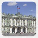El palacio del invierno, St Petersburg, Rusia (RF) Colcomania Cuadrada