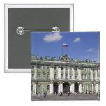 El palacio del invierno, St Petersburg, Rusia (RF) Pin Cuadrado