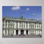El palacio del invierno, St Petersburg, Rusia (RF) Póster