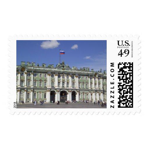 El palacio del invierno, St Petersburg, Rusia (RF) Sellos