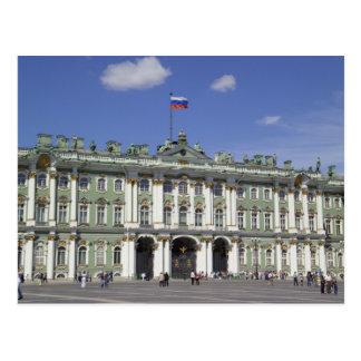 El palacio del invierno, St Petersburg, Rusia (RF) Tarjeta Postal