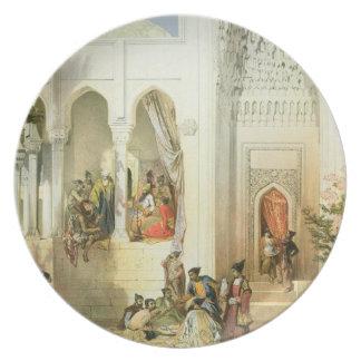 El palacio del Khan de Baku península de Apsheron Platos De Comidas