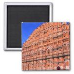 El palacio del viento en Jaipur la India Imán Cuadrado