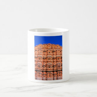 El palacio del viento en Jaipur la India Taza