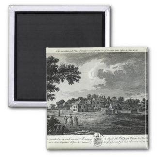El palacio episcopal antiguo de Bromley Imán Cuadrado