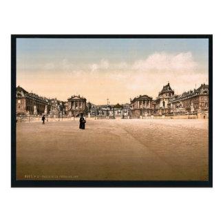 El palacio, exterior, Versalles, Francia P clásico Postales
