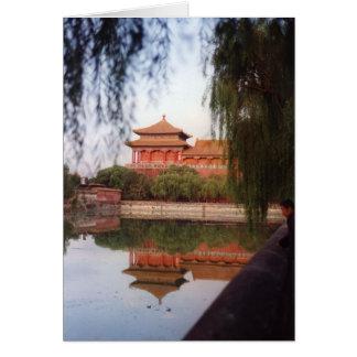El palacio imperial, Pekín Tarjeta De Felicitación