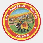 El palacio Jaipur de Rambagh Pegatinas