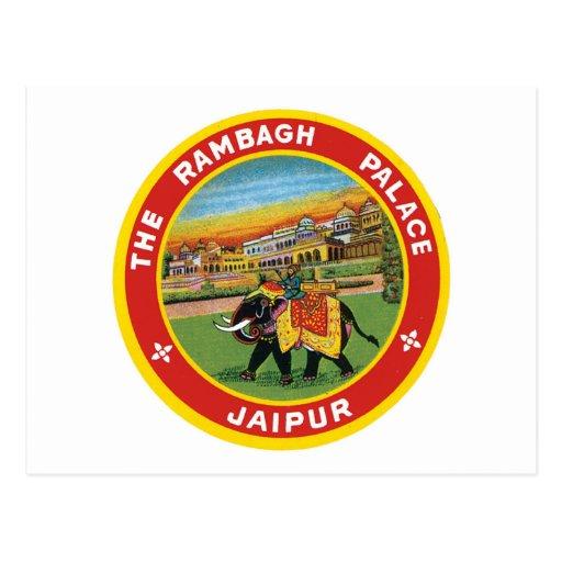 El palacio Jaipur de Rambagh Postal