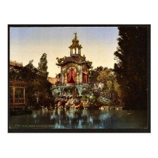 El palacio Lumineux, exposición Universal, 1900, P Tarjeta Postal