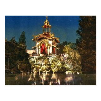 El palacio Lumineux, noche, universal de la exposi Postales