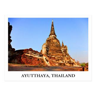 El palacio magnífico de Ayutthaya en Tailandia Postales