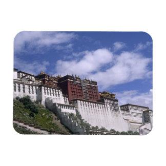 El palacio Potala en la montaña el hogar del Dalai Iman Rectangular