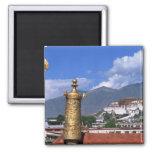 El palacio Potala en Lasa, Tíbet tomado de Imán Cuadrado