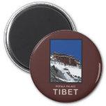 El palacio Potala Lasa Tíbet Iman