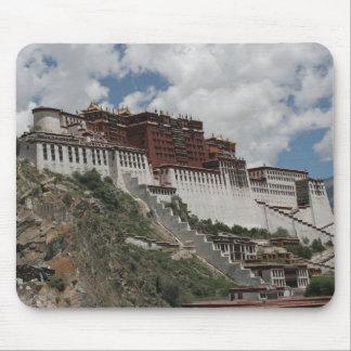 El palacio Potala, Lasa Tíbet Alfombrilla De Ratón