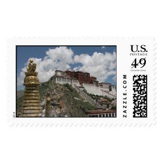 El palacio Potala, sellos de Lasa Tíbet