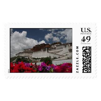 El palacio Potala, sellos de Lasa Tíbet 2