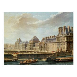 El palacio y el jardín del Tuileries, 1757 Tarjeta Postal