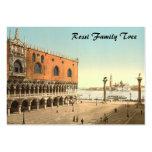 El palacio y el Piazzetta, Venecia, Italia del dux Tarjeta De Negocio