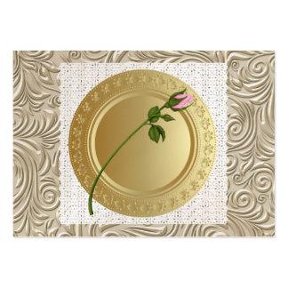 El paladar del oro - un asunto elegante - SRF Tarjetas De Visita Grandes