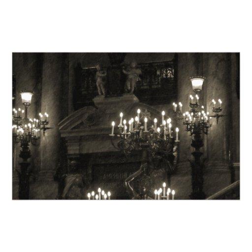 El Palais Garnier París Francia Papeleria Personalizada