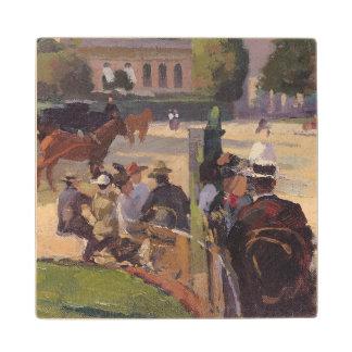 El Palais subió, París Posavasos De Arce