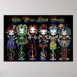 El palillo del duendecillo Freaks a hadas del circ Posters
