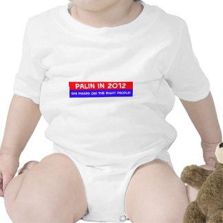 el palin 2012 pisses apagado a gente adecuada traje de bebé