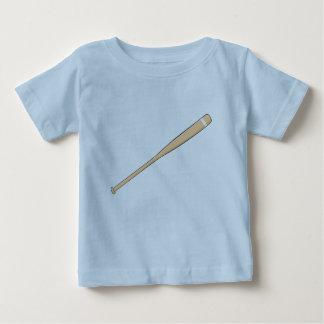 El palo de madera de encargo del softball del tshirt