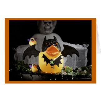 El palo Duckies protege y defiende Tarjeton