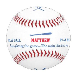 el palo y el juego de los baseballer