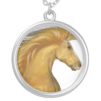 El Palomino de oro Colgante Redondo