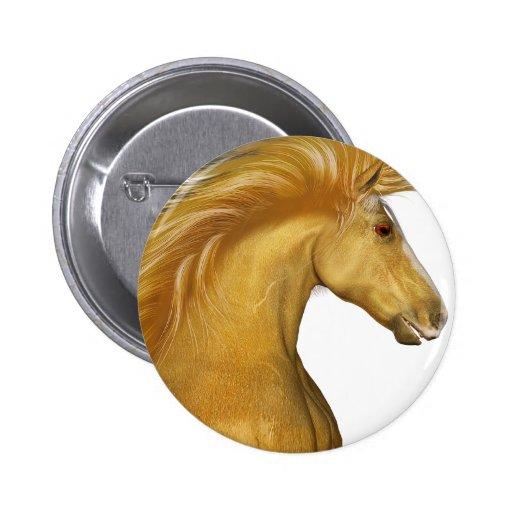 El Palomino de oro Pin