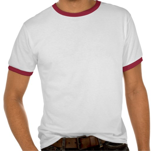 El pan comido más grande en la camiseta anillada