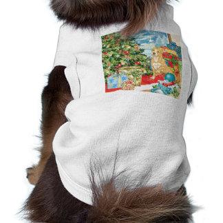 El pan de jengibre desea arte del navidad de Terri Camisetas Mascota