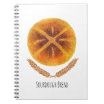 El pan de pan amargo libros de apuntes con espiral