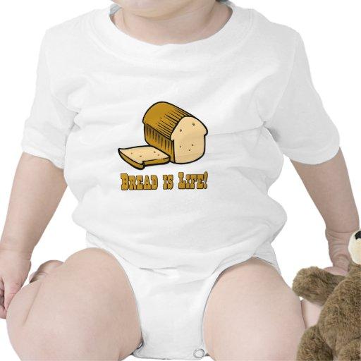 El pan es vida traje de bebé