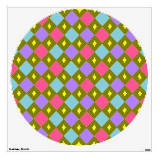 El panal multicolor crea su propia etiqueta de la  vinilo